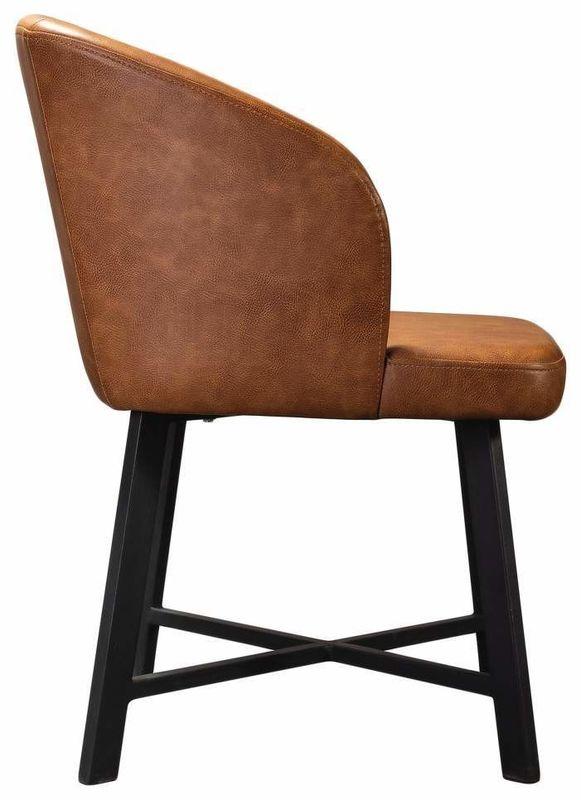 Кресло R-Home Loft RST_410128h_brown, коричневый - фото 3