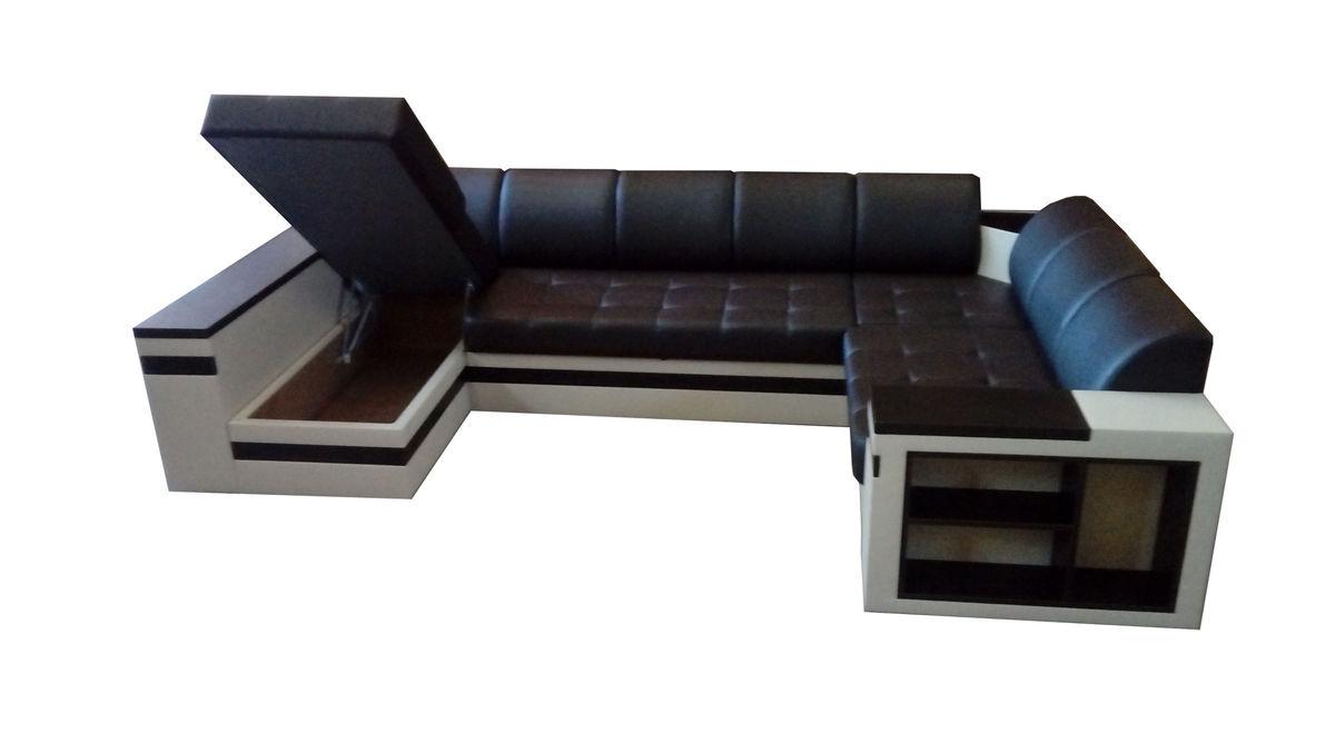 Диван Soft Style Престиж Отто (темно-коричневый) - фото 2