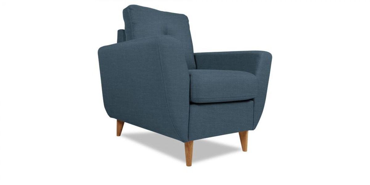 Кресло WOWIN Хоум (Денимовая рогожка) - фото 1