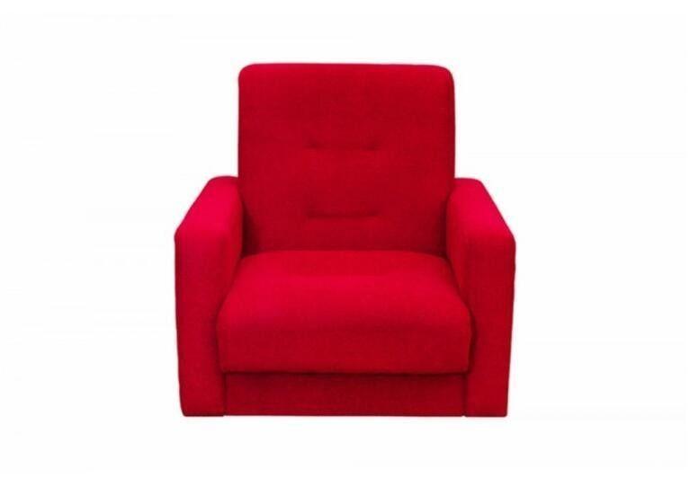 Кресло Craftmebel Милан красный - фото 1