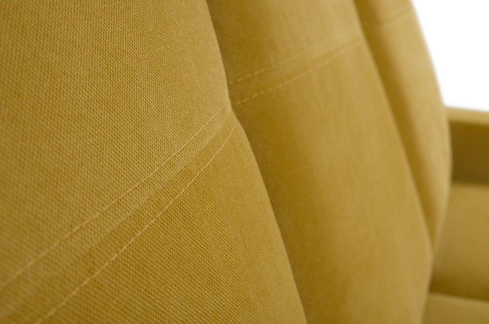 Диван Woodcraft Модульный Гувер-2 Velvet Yellow (уцененный) - фото 19
