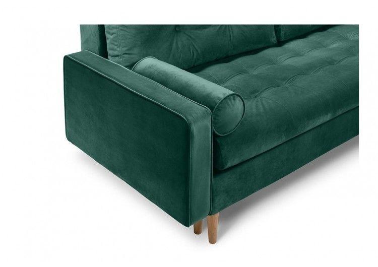 Диван Craftmebel Ситено (вельвет зеленый) - фото 3