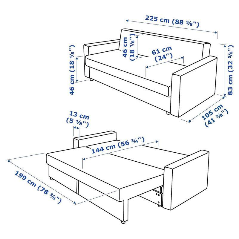 Диван IKEA Фрихетэн 904.115.54 - фото 7