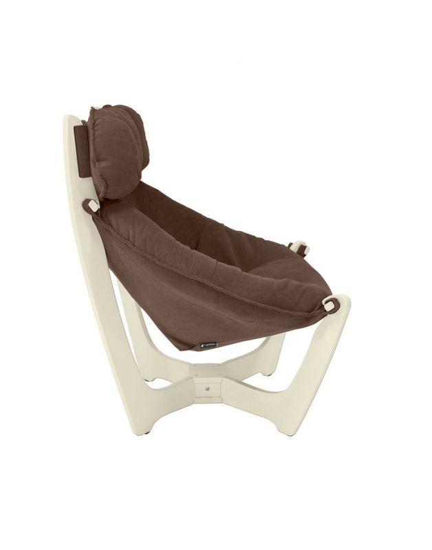 Кресло Impex Модель 11 verona сливочный (Antrazite grey) - фото 6