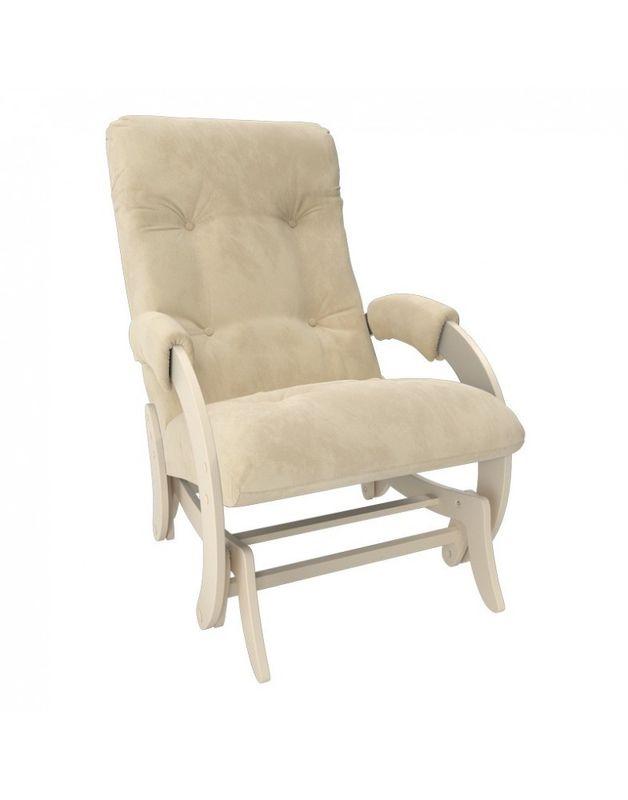 Кресло Impex Кресло-гляйдер Модель 68 Verona сливочный (Vanilla) - фото 1