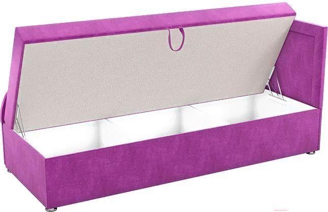 Диван Mebelico Триумф-П 76 микровельвет фиолетовый [59409] - фото 2