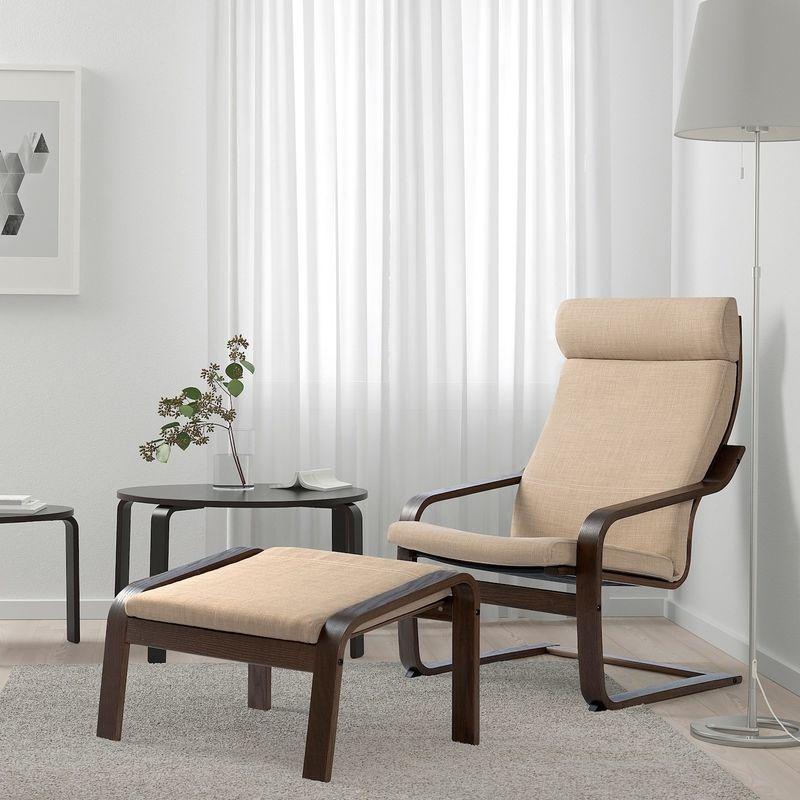 Кресло IKEA Поэнг 193.028.04 - фото 2