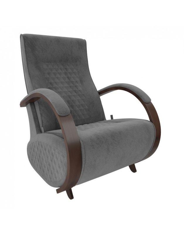 Кресло Impex Balance-3 Verona  орех (light grey) - фото 2