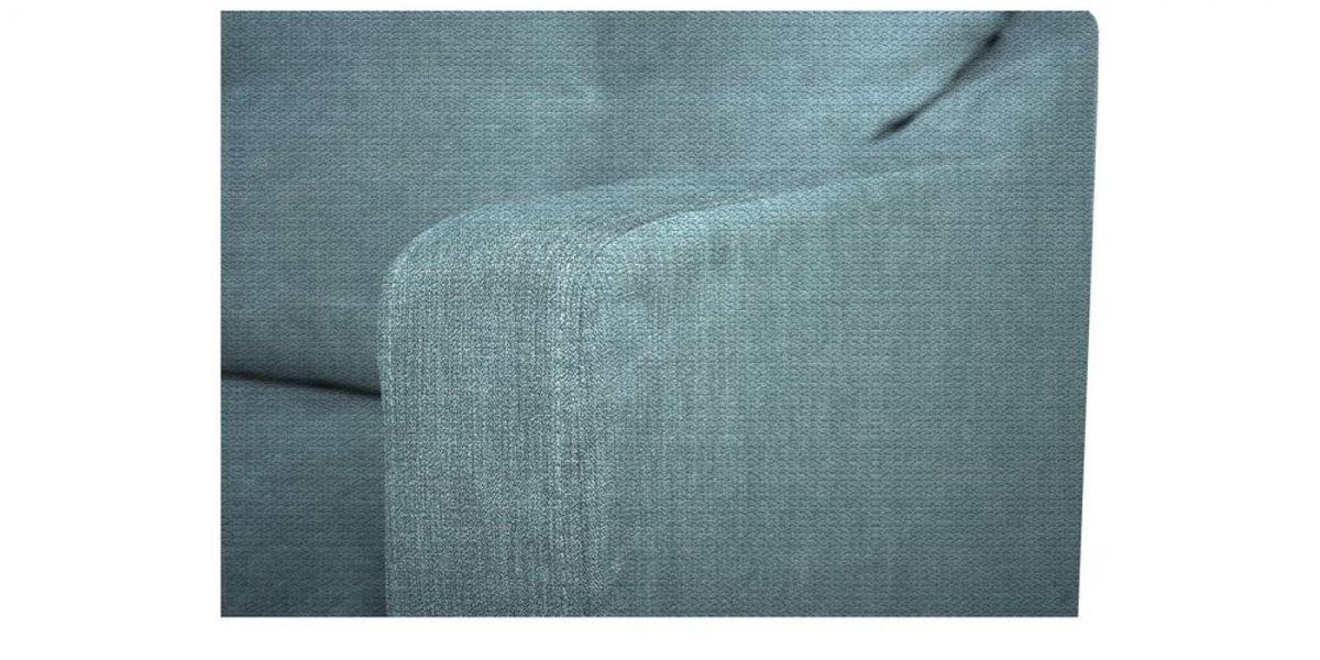 Кресло WOWIN Полар (Бледно-васильковая рогожка) - фото 4
