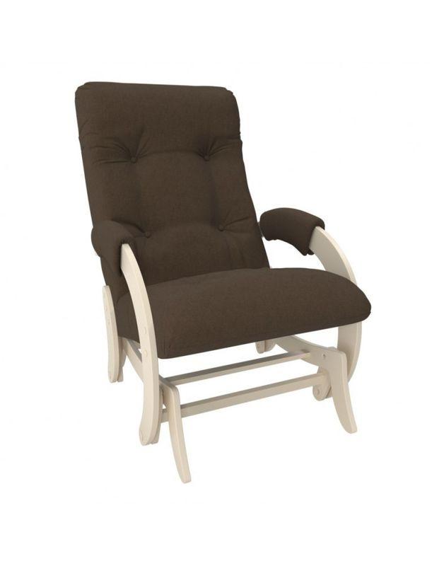 Кресло Impex Кресло-гляйдер Модель 68 Montana сливочный (Montana 802) - фото 1