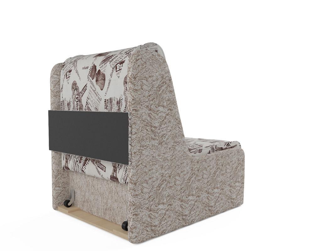 Кресло Мебель-АРС Аккорд №2 (газета коричневая) - фото 6