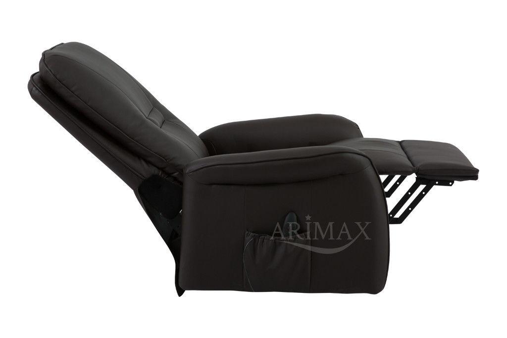 Кресло Arimax Dr Max DM02007 (Горький шоколад) - фото 6