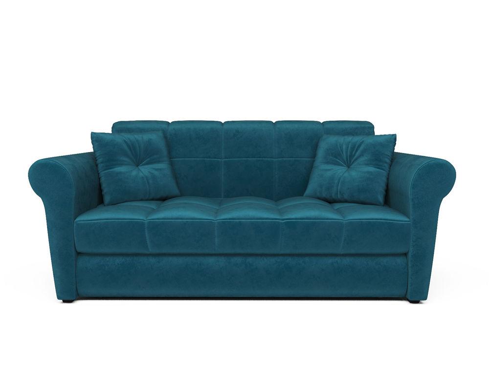 Диван Мебель-АРС Гранд (бархат сине-зеленый/STAR VELVET 43 BLACK GREEN) - фото 2