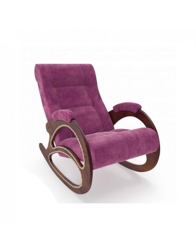 Кресло Impex Модель 4 Verona орех (light grey) - фото 4