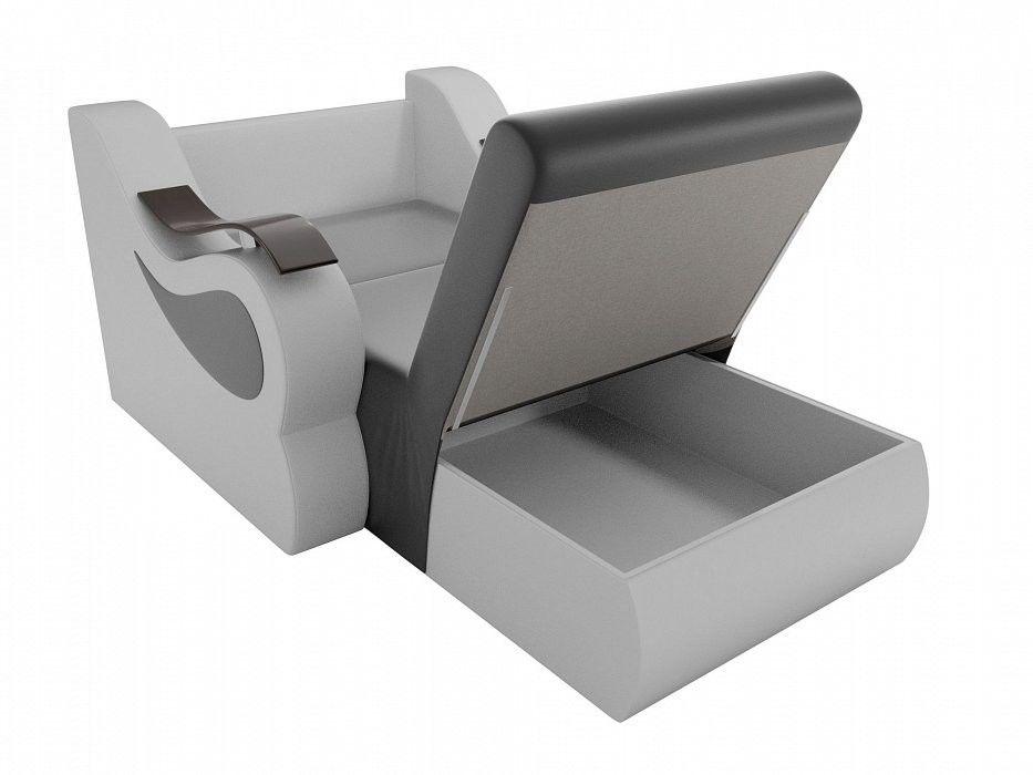 Кресло ЛигаДиванов Меркурий (100688) экокожа - фото 3