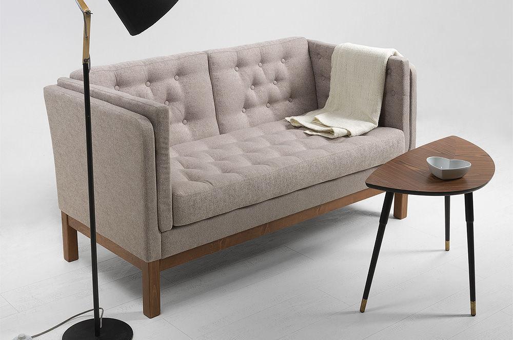 Диван Woodcraft Айверс Textile Beige (прямой) - фото 3