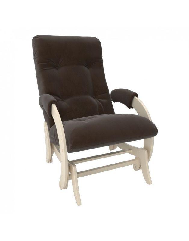 Кресло Impex Кресло-гляйдер Модель 68 Verona сливочный (brown) - фото 1