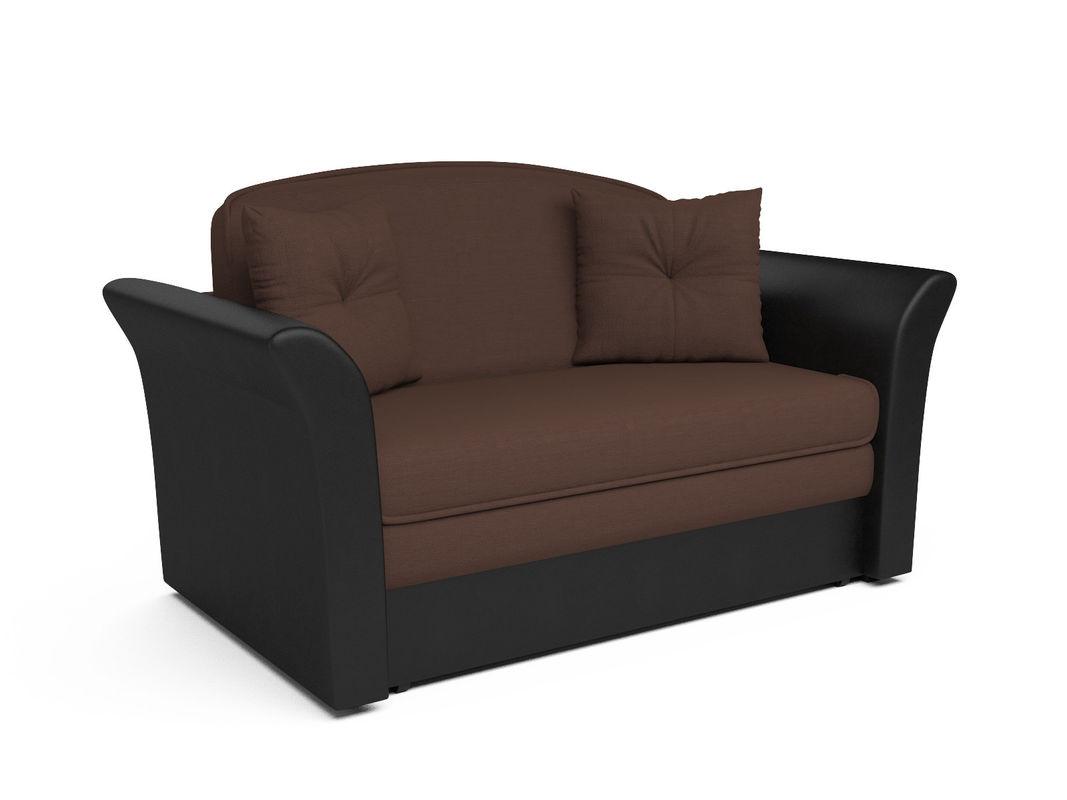 Диван Мебель-АРС Малютка №2 (рогожка шоколад) - фото 1