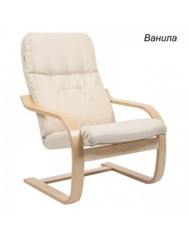 Кресло Impex Сайма ткань (Basic vanilla) - фото 1