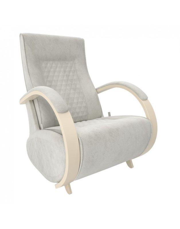Кресло Impex Balance-3 Verona  сливочный (light grey) - фото 1