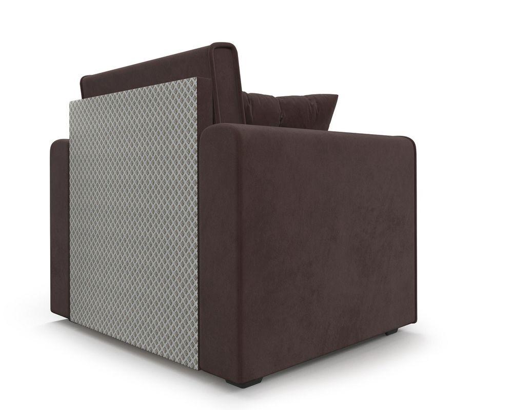 Кресло Мебель-АРС Санта (велюр молочный шоколад / НВ-178/13) - фото 5