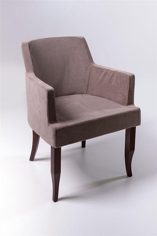 Кресло ФорестДекоГрупп Ягуар (серый/черный) YAGUAR-GR-BL - фото 1