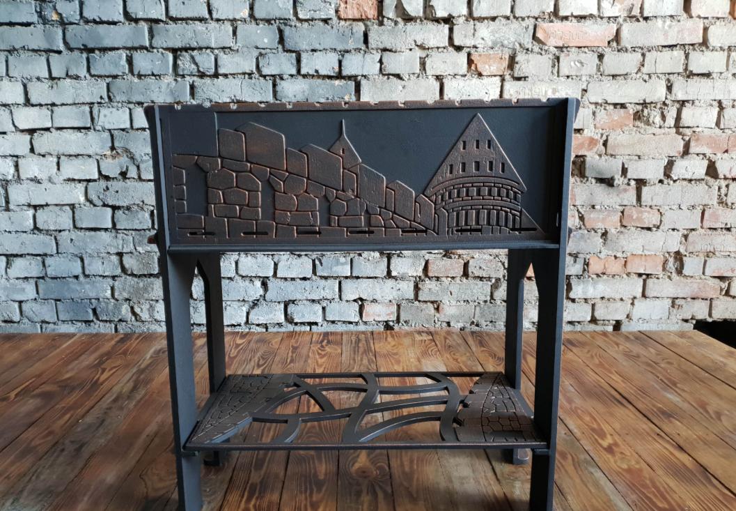Мангал Фондерия Замок (чугунный) - фото 1