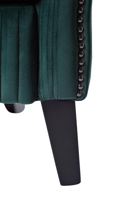 Кресло Garda Decor Кресло для гостиной Garda Dеcor PJS30801-PJ622 GRD_TT-00000528, зеленый - фото 4