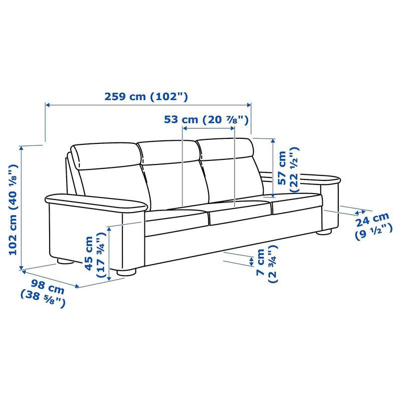 Диван IKEA Лидгульт [292.570.33] - фото 7