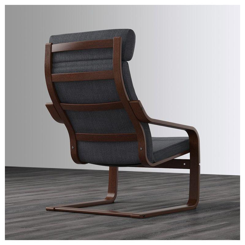 Кресло IKEA Поэнг 592.514.97 - фото 4