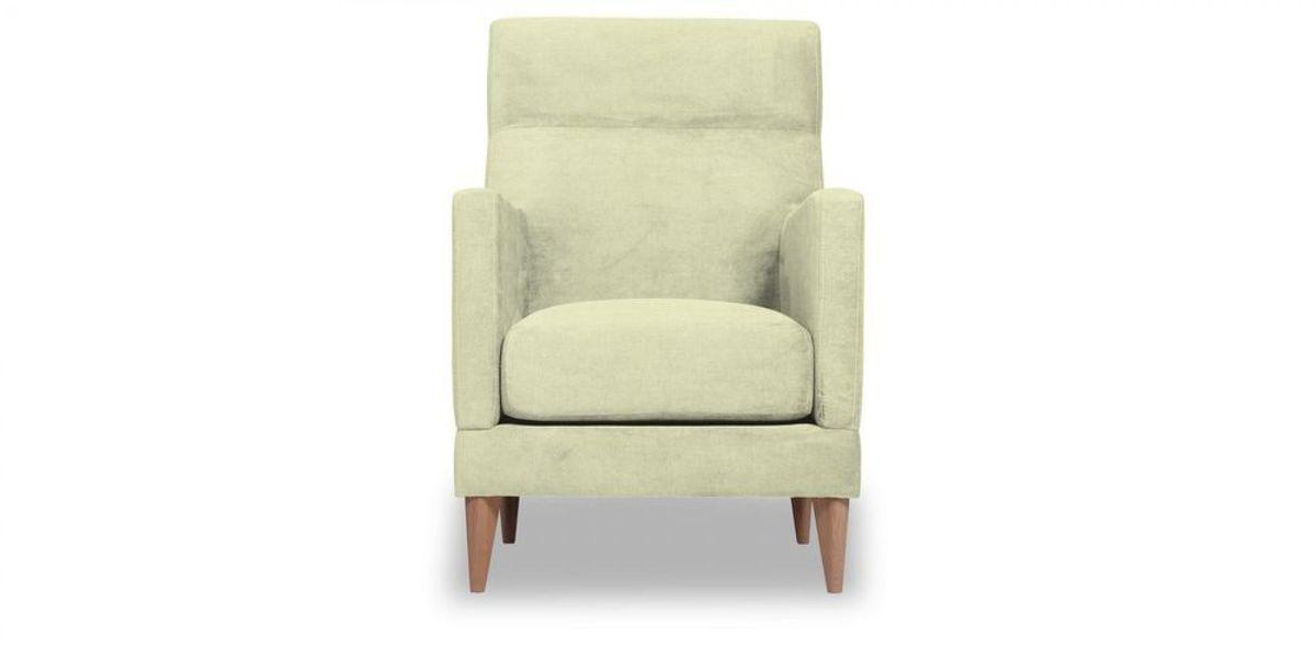 Кресло WOWIN Полар высокое (Молочный велюр) - фото 2
