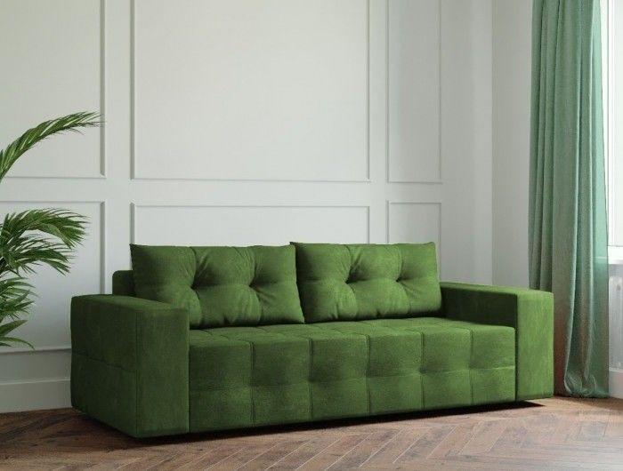 Диван Настоящая мебель Ванкувер Мейсон (модель: 00-00000032) зелёный - фото 1