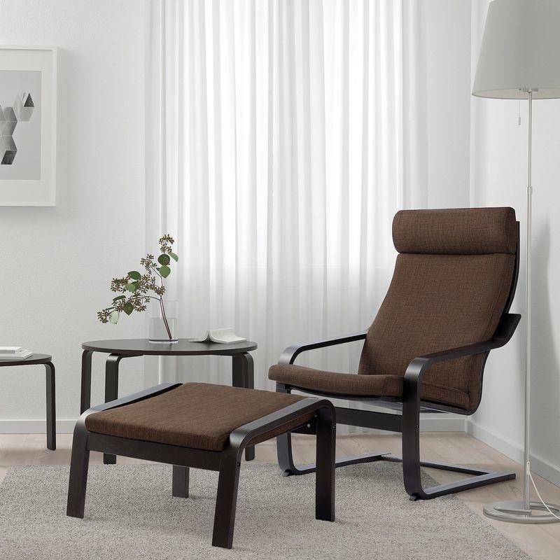 Кресло IKEA Поэнг 793.028.01 - фото 2