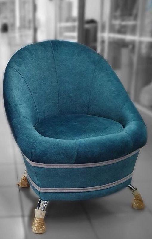 Пуфик DM-мебель Жемчужина (синий) - фото 1