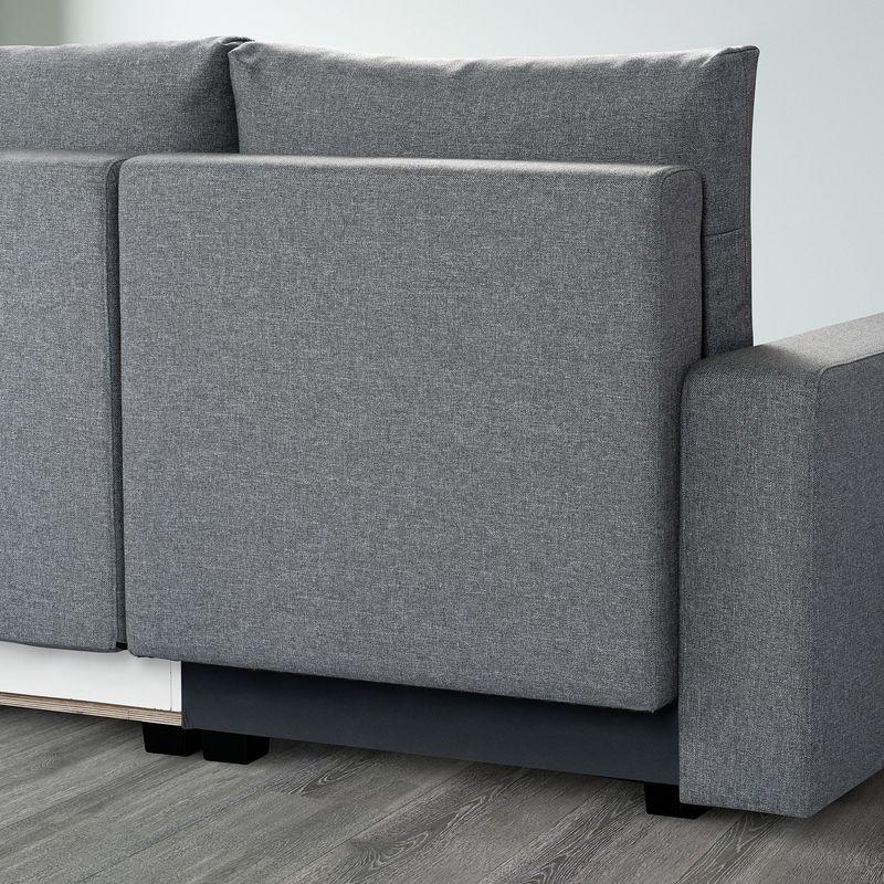 Диван IKEA Гиммарп светло-серый [304.489.04] - фото 9