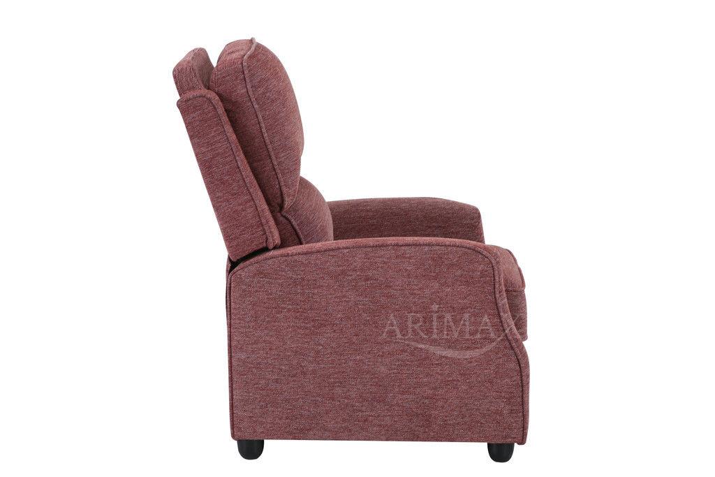 Кресло Arimax Dr Max DM02001 (Брусничный) - фото 7