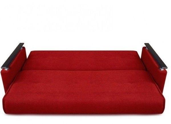 Диван Луховицкая мебельная фабрика Милан Люкс (Астра красный) 120x190 - фото 3