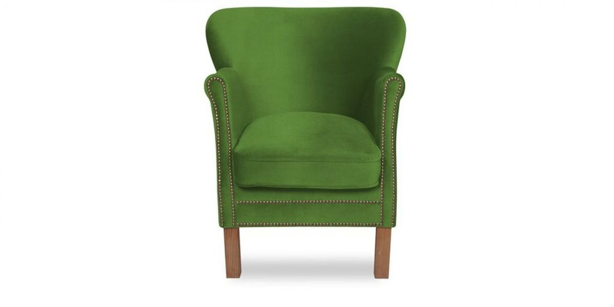 Кресло WOWIN Голден (Зеленый велюр) - фото 2