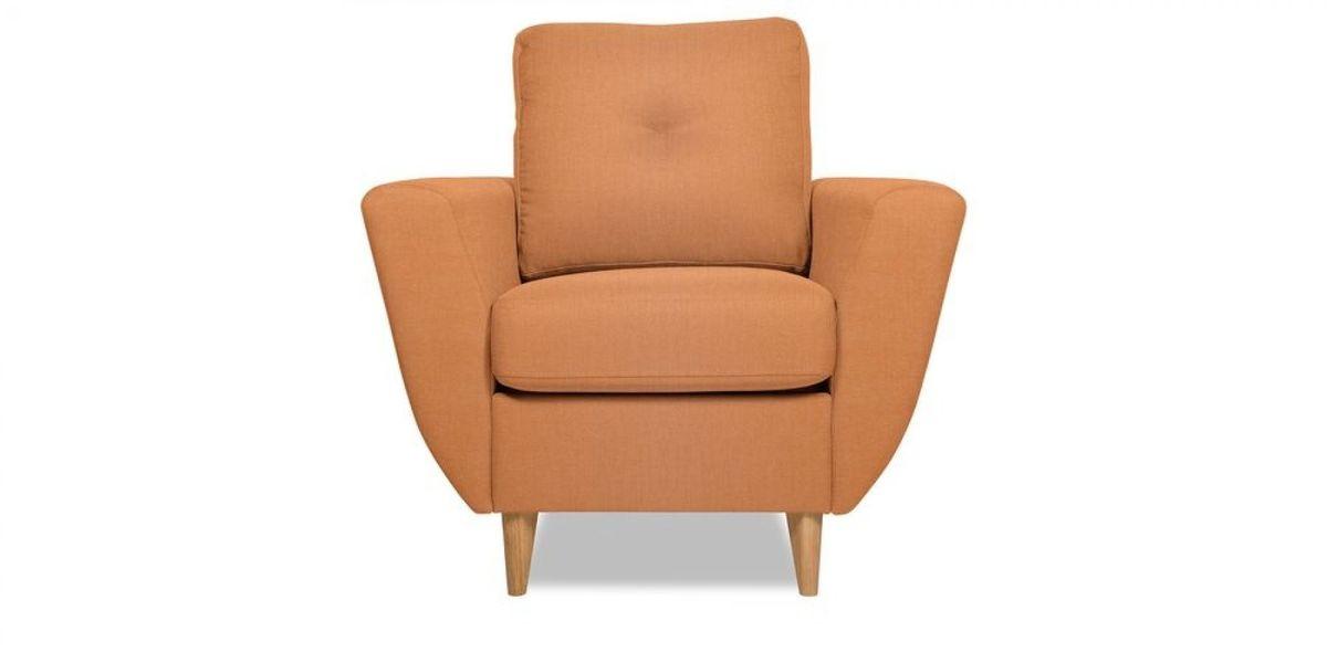 Кресло WOWIN Хоум (Бледно-лососевый велюр) - фото 2