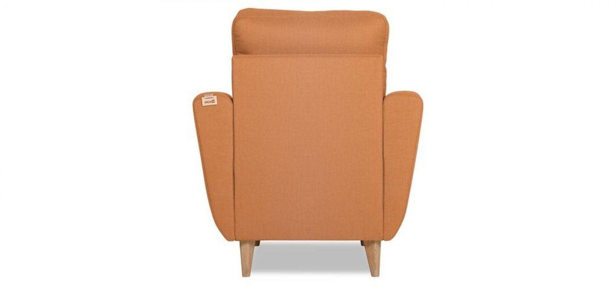 Кресло WOWIN Хоум (Бледно-лососевый велюр) - фото 5