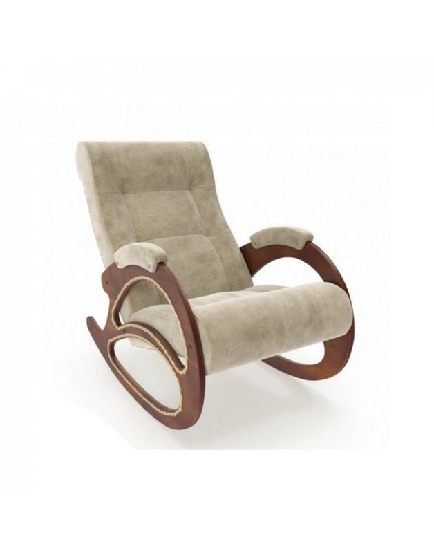 Кресло Impex Модель 4 Verona орех (light grey) - фото 5