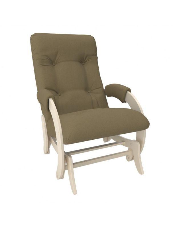 Кресло Impex Кресло-гляйдер Модель 68 Montana сливочный (Montana 904) - фото 1