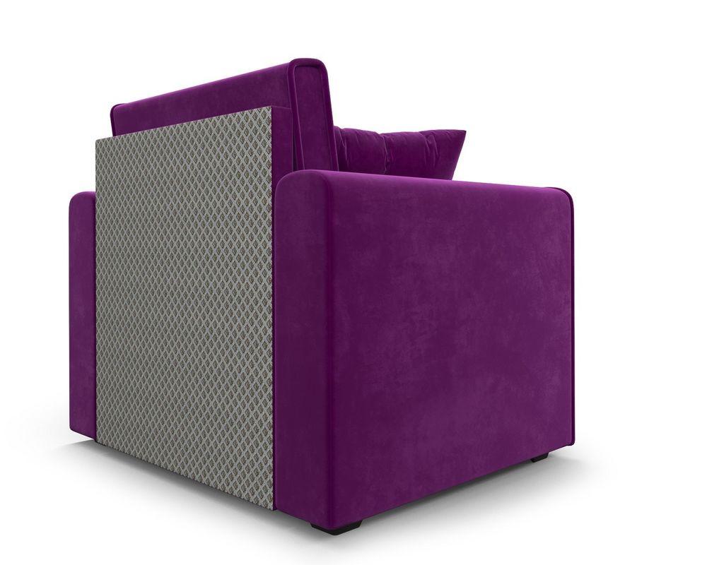 Кресло Мебель-АРС Санта фиолет (микровельвет) - фото 5