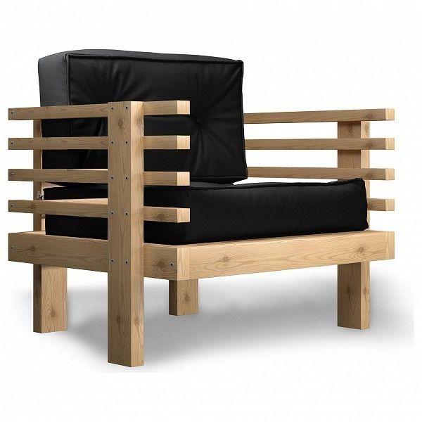 Кресло Anderson Стоун AND_123set371, черный - фото 1