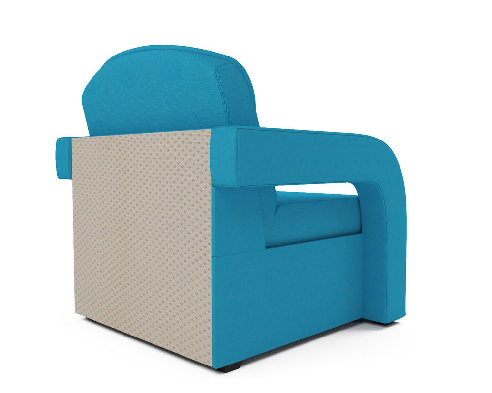 Кресло Мебель-АРС Кармен-2 синий (рогожка) - фото 4