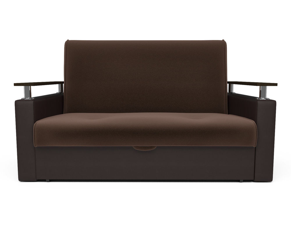 Диван Мебель-АРС Шарм — шоколад (140х195) - фото 2