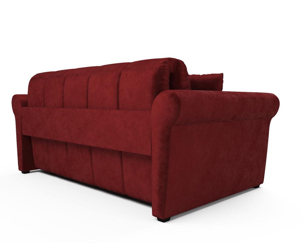 Диван Мебель-АРС Гранд (бархат красный / STAR VELVET 3 DARK RED) - фото 4