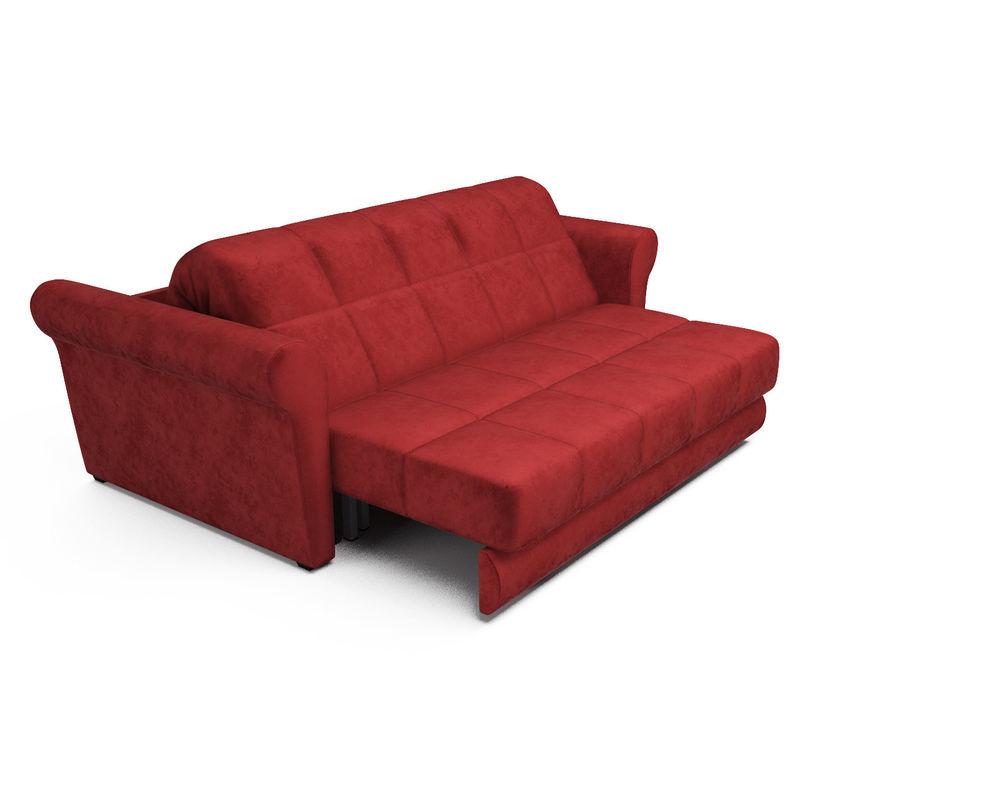 Диван Мебель-АРС Гранд (бархат красный / STAR VELVET 3 DARK RED) - фото 5