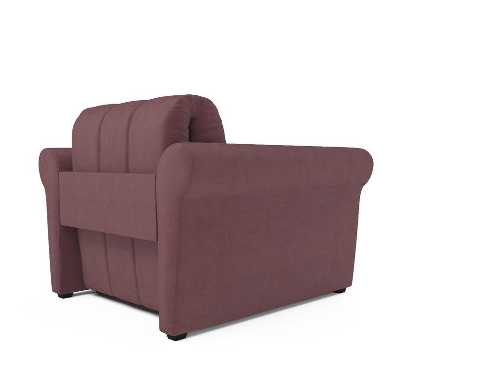 Кресло Мебель-АРС Гранд пудра велюр (НВ-178/18) - фото 4