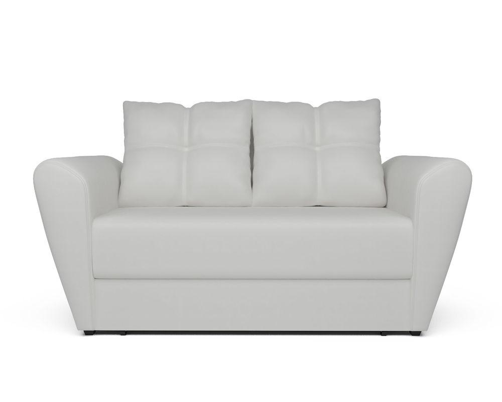 Диван Мебель-АРС Квартет белая экокожа - фото 2